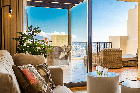 interior image appartements la cala